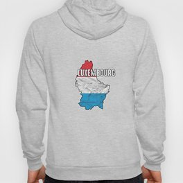 Patriotic Luxembourger Luxembourg Flag Nationalism Hoody