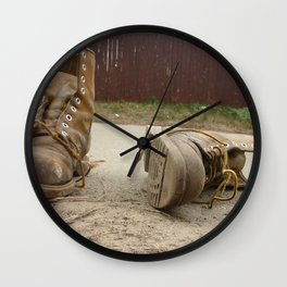 Road Wall Clock