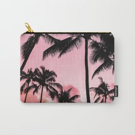 Tropical Trees Silhouette Carry-All Pouch