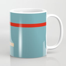 Abstract Retro Stripes Miranda Coffee Mug