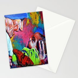 Mother Teresa Painting Stationery Cards