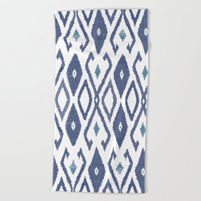Ikat Beach Towel