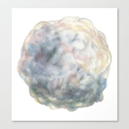 Cloud I Glump Canvas Print