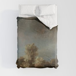 Rembrandt - The Stone Bridge Comforters
