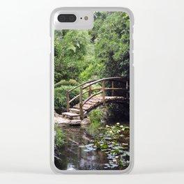 Garden Bridge Clear iPhone Case