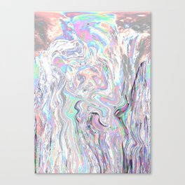 Iridiscent Canvas Print