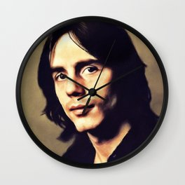 Jackson Browne, Music Legend Wall Clock