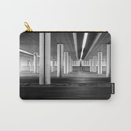 driving you crazy, urban view, city drive in warsaw, poland Carry-All Pouch