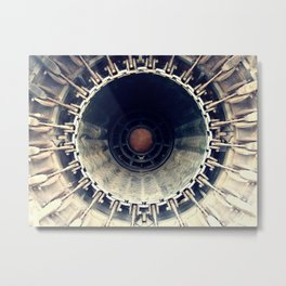 Business end of GE J79 Metal Print
