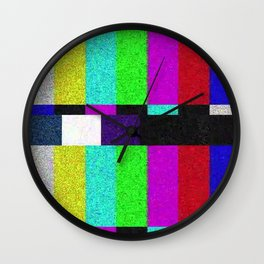 TV SCRN Wall Clock