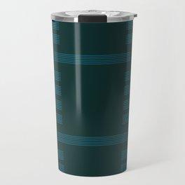 Turquoise and Jade Travel Mug