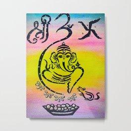 Ganesha painting Metal Print