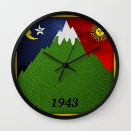 Bicycle Day 1943 Wall Clock