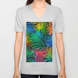 My Tropical Garden 15 Unisex V-Neck