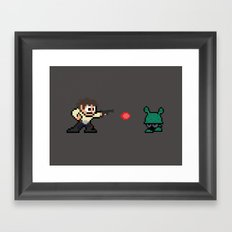 Han Shot First Framed Art Print
