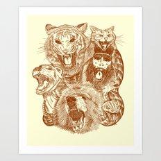 Bite Me! Art Print