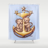 pride Shower Curtains featuring Pride by Spoopy Surprise