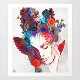 Deeper Art Print