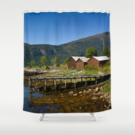 Missing summer Shower Curtain