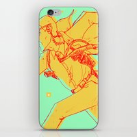 runner iPhone & iPod Skins featuring Runner by gallerydod