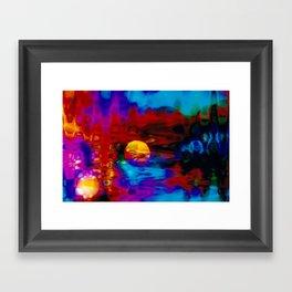 Strange Moon Framed Art Print