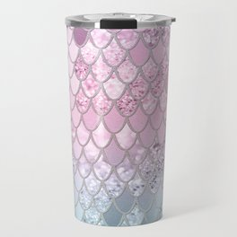 Mermaid Glitter Scales #2 #shiny #decor #art #society6 Travel Mug