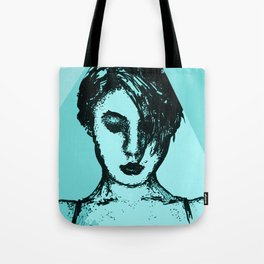 Lady Time Tote Bag