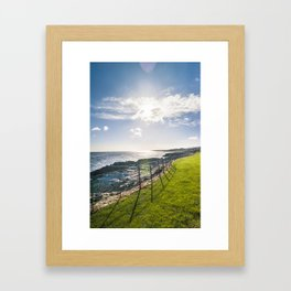Irish landscape Framed Art Print