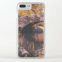 New York City Autumn Clear iPhone Case