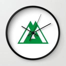 toyama region flag japan prefecture Wall Clock