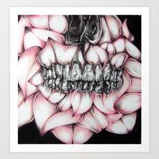 Gum Petals  Art Print