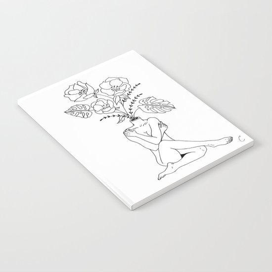 Female Form in Bloom Floral Design by lapetitemesange
