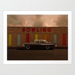 A good parking spot for an Edsel Art Print