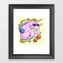 Unicolor Framed Art Print