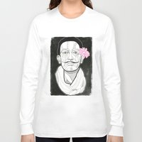 dali Long Sleeve T-shirts featuring Dali by DonCarlos