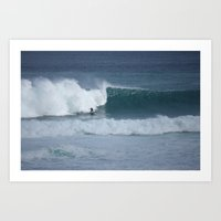Crave The Waves Art Print