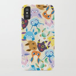Eevee Evolutions iPhone Case
