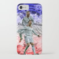 ronaldo iPhone & iPod Cases featuring Ronaldo & Ramos by Cr7izbest