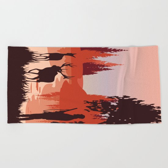 My Nature Collection No. 48 Beach Towel