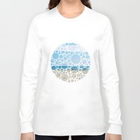 boats Long Sleeve T-shirts featuring Boats by Veselka Hadzieva