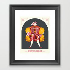 King Henry VIII of England Framed Art Print