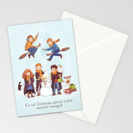 Magical merriment Stationery Cards