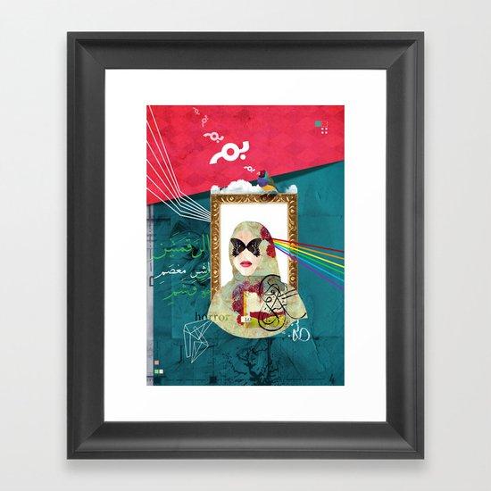Bal Masque Framed Art Print
