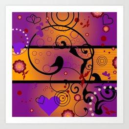Inner Heart Art Print