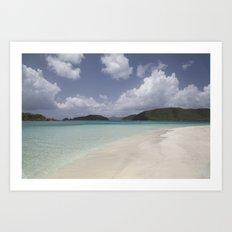 Cinnamon Bay Art Print