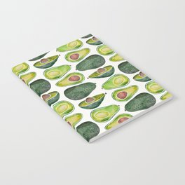 Avocado Slices Notebook