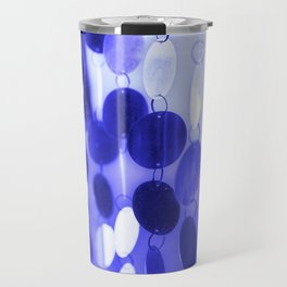 GLAM CIRCLES #Blue #2 Travel Mug