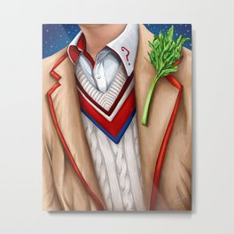 The Fifth Doctor Metal Print