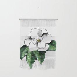 White magnolia Wall Hanging