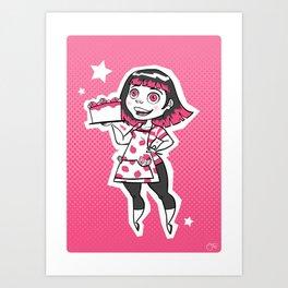 Sugar Art Print
